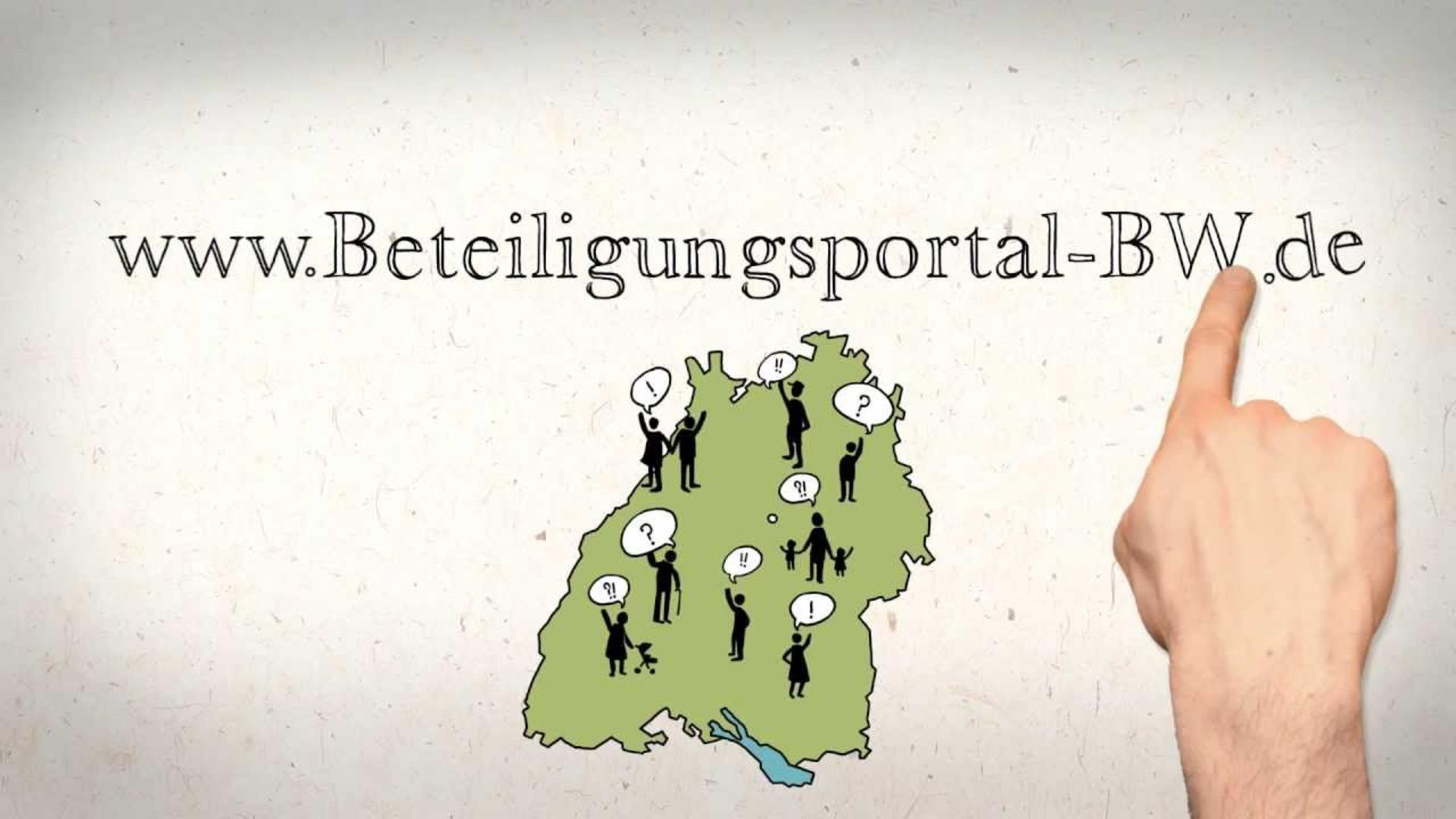 Erklärfilm Beteiligungsportal Beteiligungsportal Baden Württemberg.de